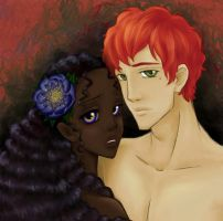 Hades and Persephone by Eeja