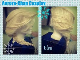 Elsa Styled Wig from Frozen by BunnyRue