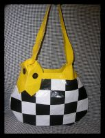 Checkerboard Purse by DuckTapeBandit