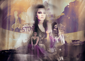 Made Of Stone - 'Blur' Blend Version 2 by EmeliaJane