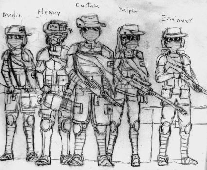 NCR Commonwealth Expeditionary Force (Concept art) by daSirGamealot