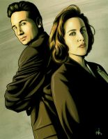 THE X FILES by mister-bones
