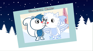 Snowers kissing Winter for the first time. by NemaoHTF
