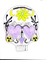 Candy Skull by cheshirequeen13