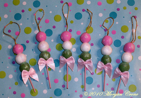 Mini Bocchan Dango Ornaments 2 by MorganCrone