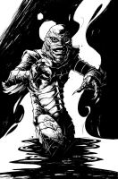 Creature from Black Lagoon by olivernome