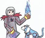 Sorcerer and Wolf Training by dogberman