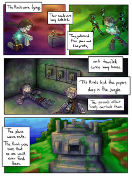 Shattered Light: A Herobrine Comic - Page 4 by owlmaddie