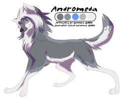 WA cameo sheet Andromeda by Kairi292