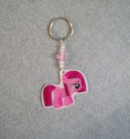 MLP Filly Pinkie Pie Key Chain Charm by AmyAnnie14