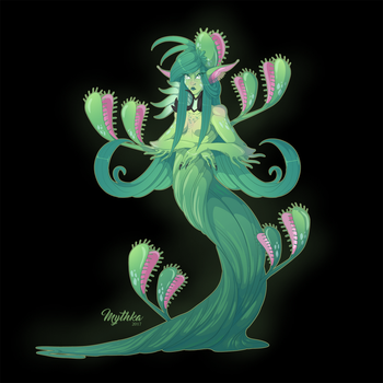 Venus Fly Trap Dryad #60 by Mythka