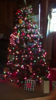 My Christmas Tree on 12/25/2013!!! by SuperSayian5Naruto