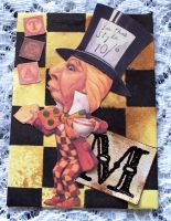 M is for Mad Hatter ATC by ValerianaSolaris