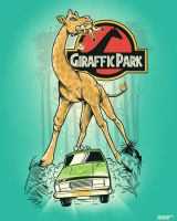 GIRAFFIC PARK by hanashing
