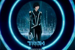 Tron Legacy: The Grid by Benny-Lee