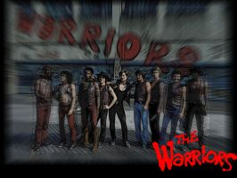 The Warriors: Wallpaper_1 by jtyoboy