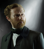 Mark Gatiss by Hortensie-Stone