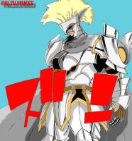 Arcadios - The White Knight by KhalSalamander