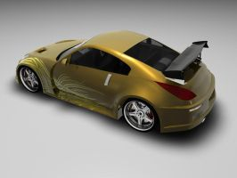 Fast'n Furious 350z - Decal :D by Snipehunter4