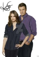 Caskett together by castlefreak005