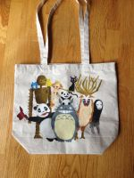 Ghibli Tote by naomiscribbles