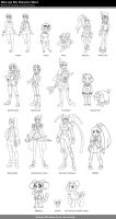 Alter-ego OCs Character Sheet by NanaRamos