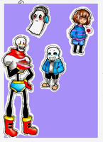Undertale Drawings by TenebrousTone