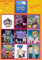My top 10 favorite cartoons. by Smurfette123