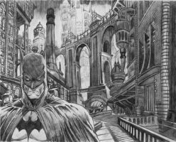 Batman by BORJICH