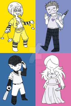 Humans and Non-humans by SheepGirlWithaThorn