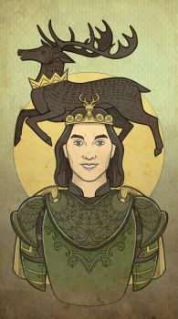 Renly Baratheon by mustamirri