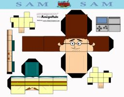Cubeecraft: Sam by amigodtodo