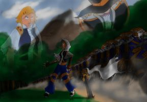 NCS Cross Army Approaches by TheInfamousJoeLinder