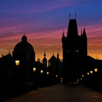 Prague night by AlexGutkin