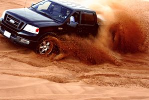 Desert 4 - Ford F150 by weird-abdulla