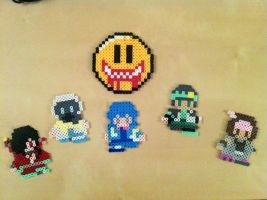 DRAMAtical Murder bead sprites by caitlinwalle