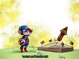 Cap of July by irongiant775