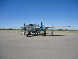 B-25 Mitchell Maid 1 by Pwesty