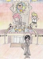 Xion and the balloons by Zwei-tan