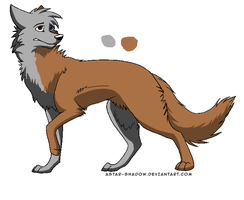 Puppy for Astrathewolf by coolsarahkry