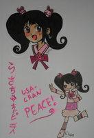 USA-CHAN PEACE by PucchiQ