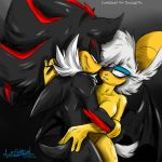 COMMISSION: ShadowxRouge by Mimy92Sonadow