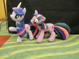 Twilight Sparkles! by NerdyKnitterDesigns