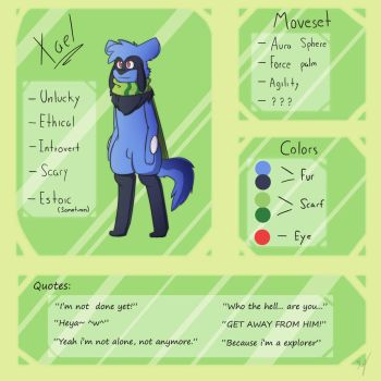 SDT: Xael Reference by Deathxael
