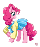 Pinkie: Wearing a Hanbok by norang94