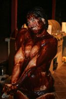 Chocolate Wrestling Queen by FatBottomedGirl