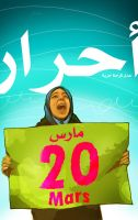 Protests of March 20 by taoufiq