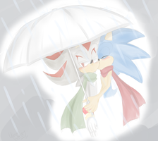 Sonadow doodle by UnknownWarning