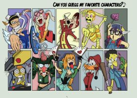 U guess my favourite character by BoscoloAndrea