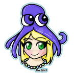 Clara and her Squid Hat by mea0113
